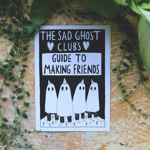 A 16 page comic book zine with 10 rules for making friends.Black and white, printed on 160gsm off-white paperstock with a black and white cover.By purchasing this product you are helping to fund workshops and talks which help young people to understand and learn about their mental health. * FREE Worldwide Shipping on every order *