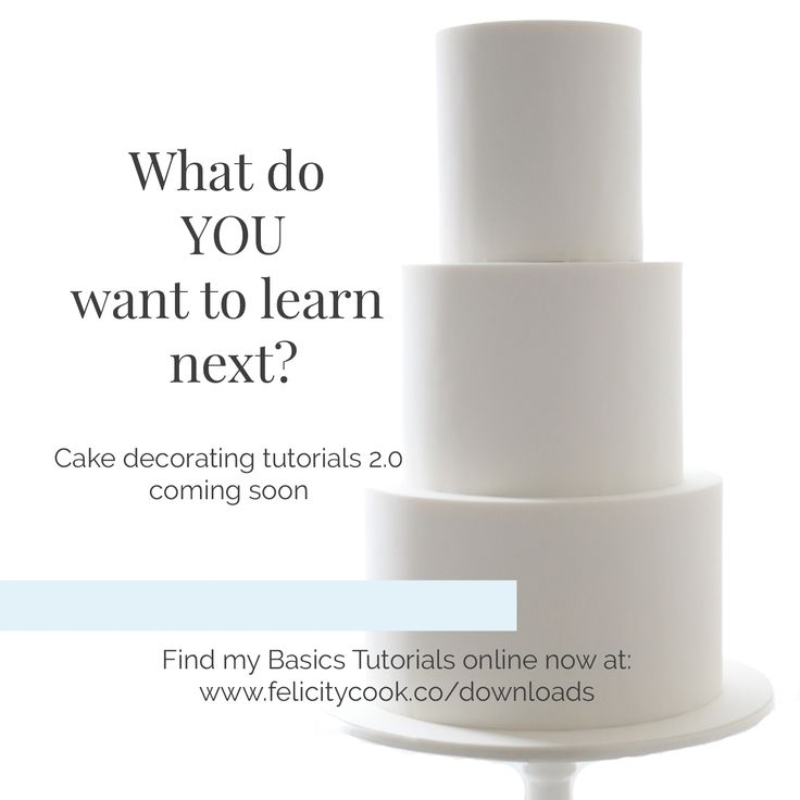 It's time to learn some new cake decorating techniques! I want to know what YOU want to learn, so comment here, on Facebook, Instagram, or Twitter, and let me know what fondant techniques you want to see next.