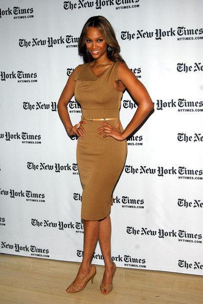 Tyra Banks Photo - Black Halo Jackie O dress 2