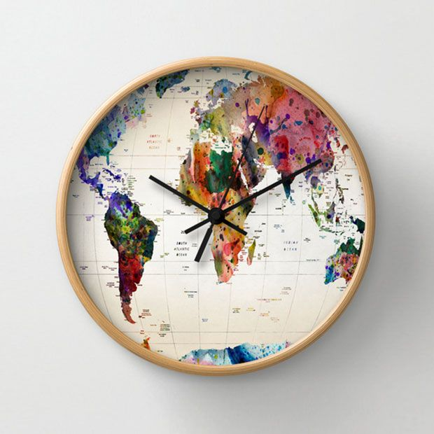World Wide Wall Clock