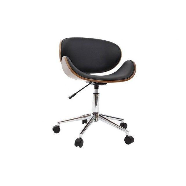 Chaise De Bureau Design Bois Walnut Bureau En Bois