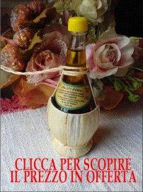 Fiaschetta Olio Extravergine di Oliva 100% Italiano da 100 ml con tappo da oliera OFFERTA SPECIALE € 5,72 IVA INCLUSA
