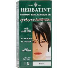 Herbatint Gel Colorant 1N Black (Negru) este un colorant permanent din extracte vegetale. Herbatint este un colorant permanent, care acoperă firele albe, de la prima aplicare.Produsul nostru contine extracte din plante si nu contine amoniac sau săruri de plumb.