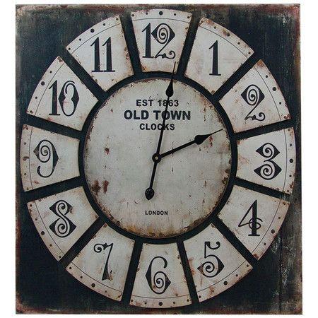 Cadencia Wood Clock