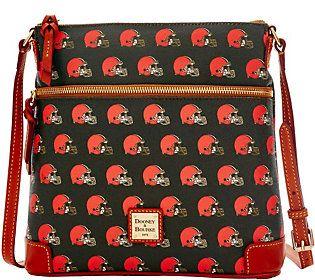 Dooney & Bourke NFL Browns Crossbody