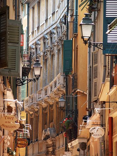 Vieux Nice  France. Our tips for things to do in Nice, France: http://www.europealacarte.co.uk/blog/2011/06/09/things-to-do-nice/
