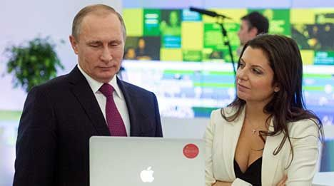 Resultado de imagem para pictures of margarita simonyan russia today