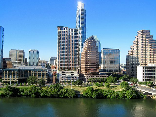 Austin Texas Lake Front by StuSeeger, via Flickr