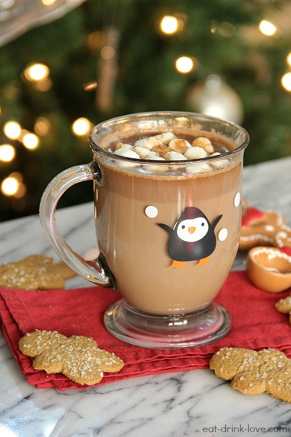 Gingerbread Hot Chocolate » Eat. Drink. Love.