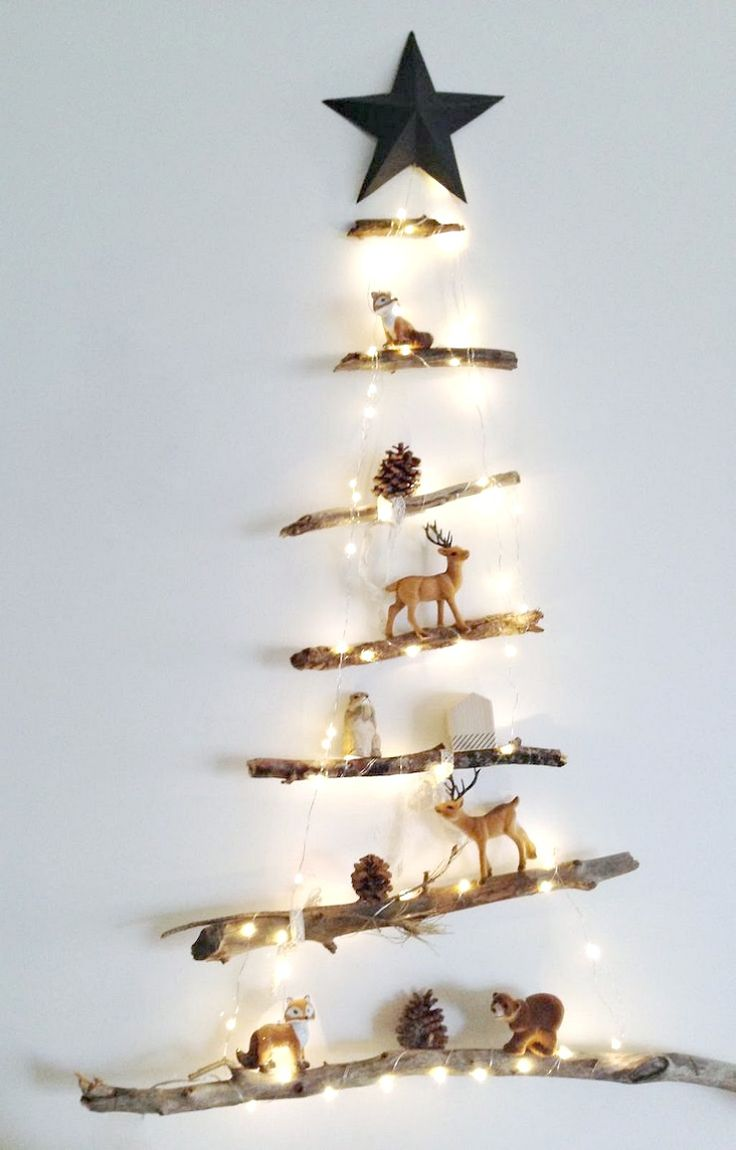 10 Árboles de Navidad para la pared   La Bici Azul: Blog de decoración, tendencias, DIY, recetas y arte