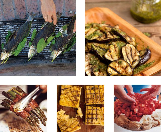 Summer Dinner Party Menu Ideas Part - 32: Menu: An Early Summer Dinner On The Grill