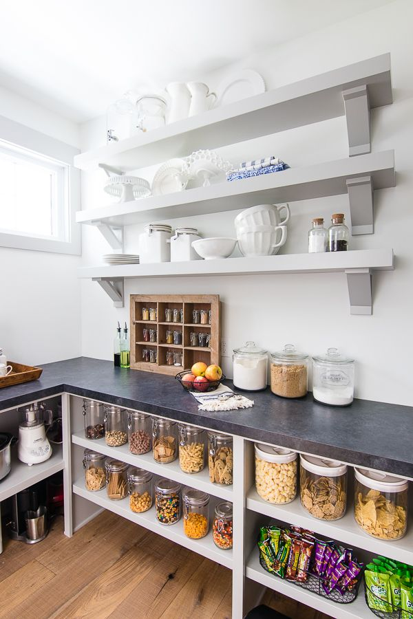 Best 10 hidden microwave ideas on pinterest kitchen for Large walk in pantry