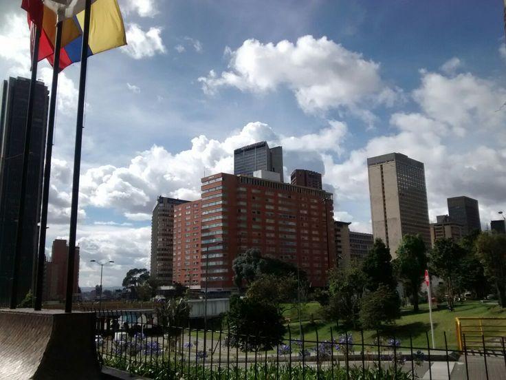 Hotel Tequendama, en el centro internacional San Diego, en Bogotá.