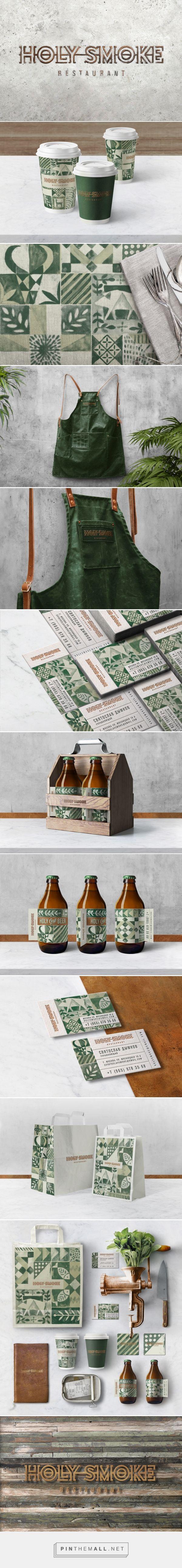 HOLY SMOKE Restaurant on Behance - created via https://pinthemall.net