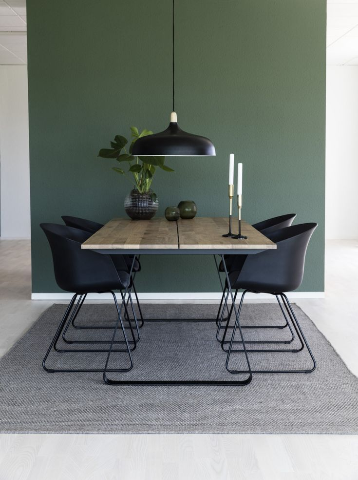 Sohome Dining Table Ran Oak And Steel 200 X 95 Cm Dining Room