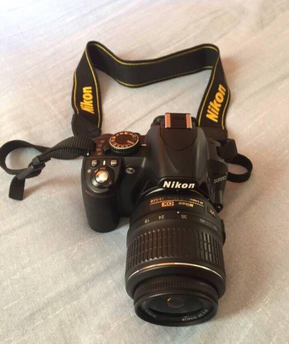 Compre Fotografia Digitais Nikon Usado no enjoei :p Vendo câmera semi profissional, Nikon D3100 com lente pad.... Código: 13879177