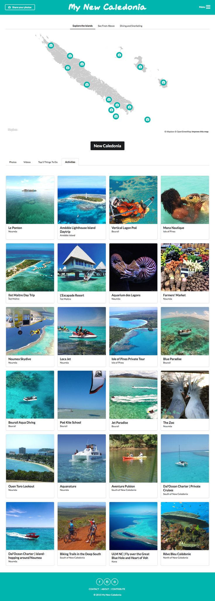 I share things to do, activities and must-see in New Caledonia on my website: mynewcaledonnia.co . See you there!