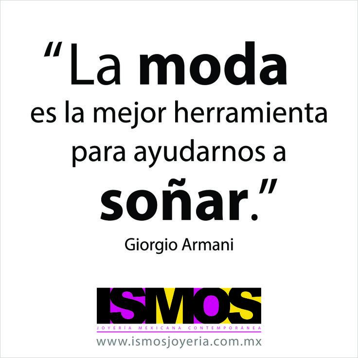 Giorgio Armani hablando sobre la moda // ISMOS Joyería