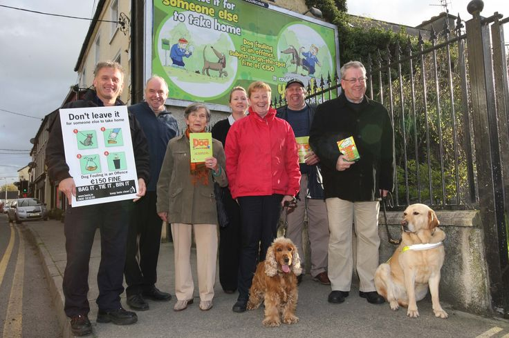Dog Fouling Awareness Mountrath Tidy Towns
