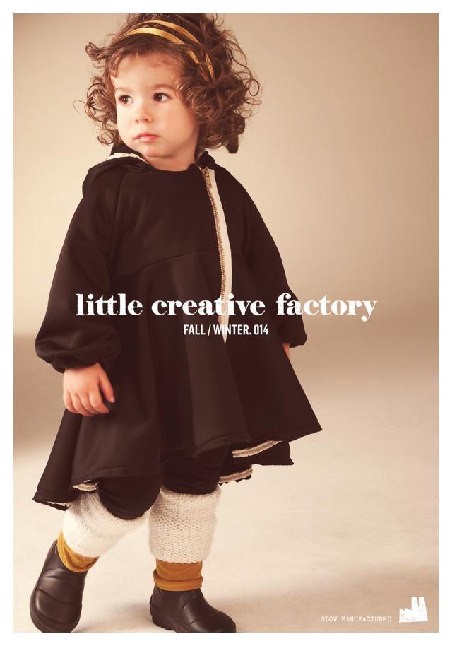 Little creative factory girl!