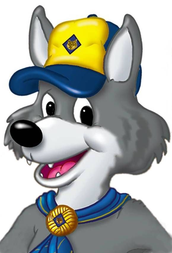 Wolf Clipart-cub scouts