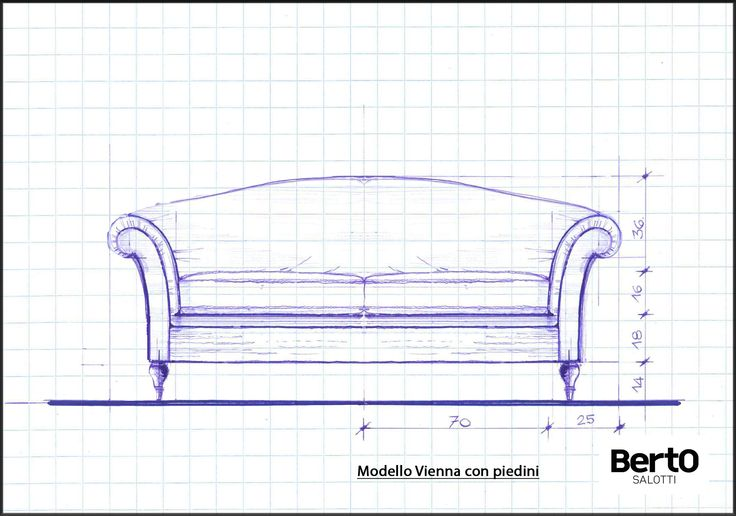 Vienna classic sofa with special feet #bertosumisura #madebyhand #madeinitaly