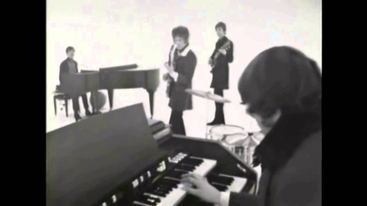 Procol Harum  'A Whiter Shade Of Pale' 1967.  No. 57 on Rolling Stone magazine's list of the 500 Greatest Songs of All Time in 2004.