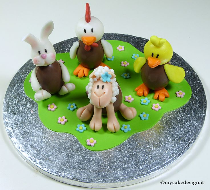 Decorated Easter Cake Images