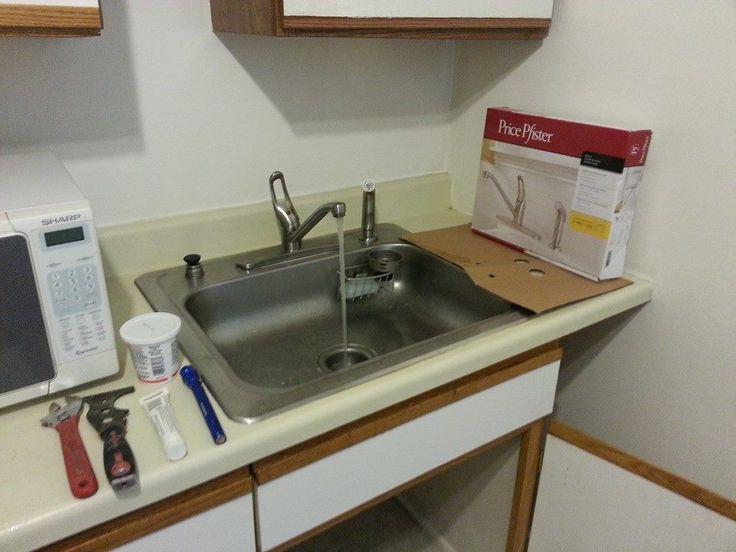 A Rental Refresh List :: Vanity Redo, Ceiling Redo + Faucets :: Hometalk