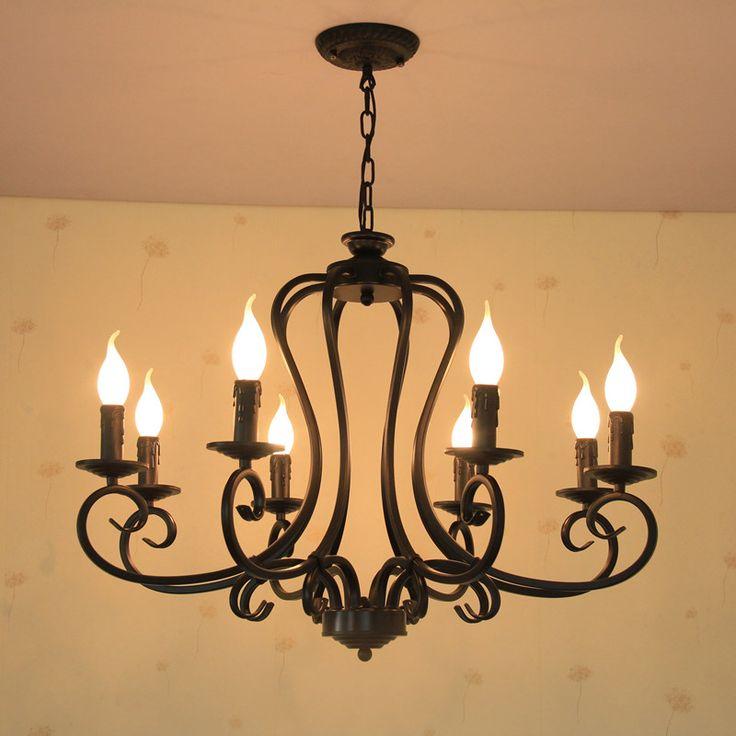 retro chandelier lighting  lamp industrial Incandescent Bulbs Filament Edison light chandelier Restaurant Indoor Lighting