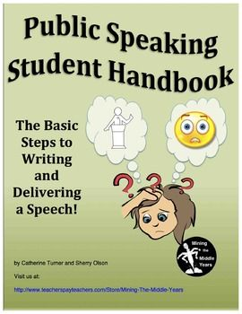 This package is a guided approach to a Public Speaking Unit.  Students are guided through the process of planning a speech, writing a speech and delivering a speech.  If you are new to teaching public speaking, this resource provides a step by step approach.