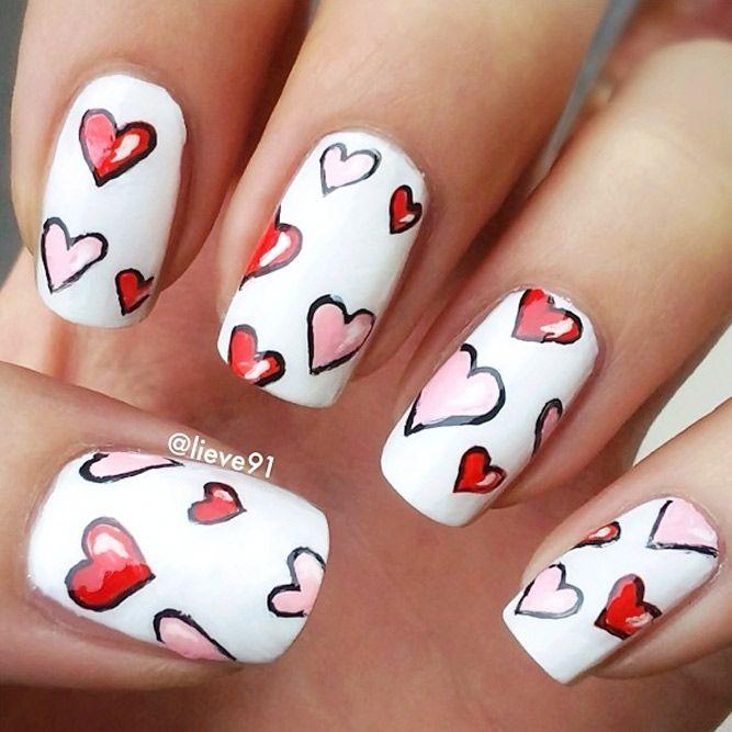45 -pretty nail art design