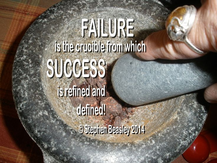 THE BOWL of SUCCESS: True SUCCESS is experienced, when we understand that it works in partnership with FAILURE!