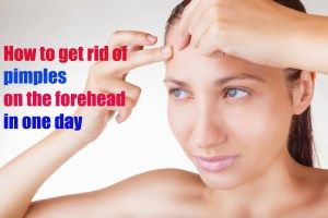 How To Get Rid Of Pimples On Forehead In One Day | Pimple Marks Solution