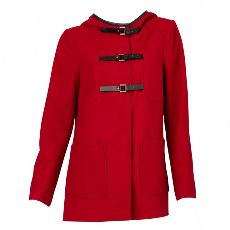 Outdoor Hooded Coat #sportsgirl