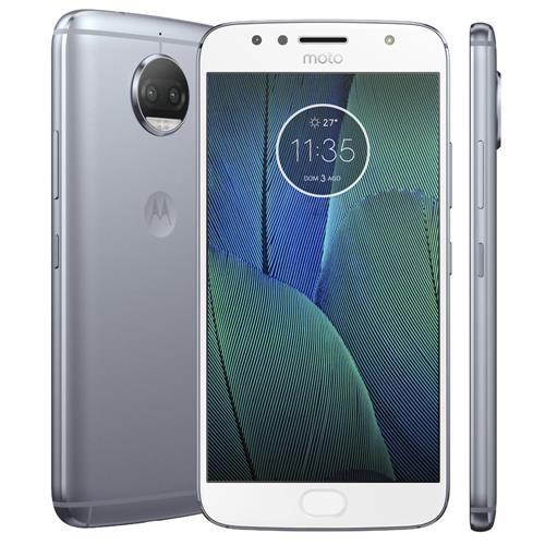 Smartphone Motorola Moto G5s Plus XT1802 Azul Topázio 32GB, Tela 5.5'', Dual Chip, TV Digital, Android 7.1, Câmera Traseira Dupla 13MP e 3GB RAM