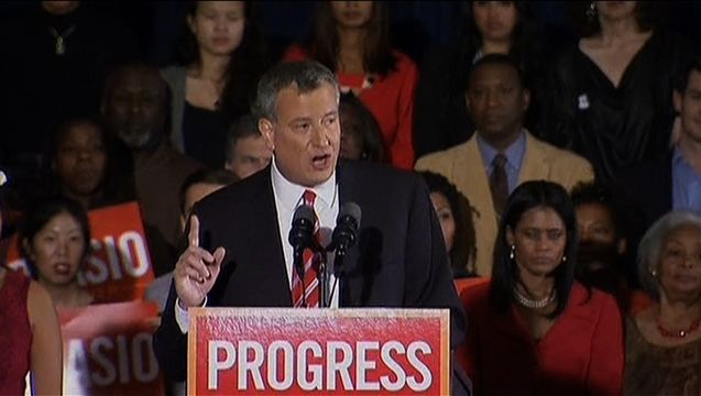 "From Free Pre-K to Paid Sick Leave to Pay Raises, NYC Mayor de Blasio Fulfills Progressive Promises ""The list of his accomplishments in just one year has shocked even me — a total skeptic after more 35 years of covering urban politics in this country,"" writes González in his latest column. ""And it's not just the big issues like education, affordable housing, reform of police-community relations, or new contracts and pay raises for city workers. It's also a host of less ..."