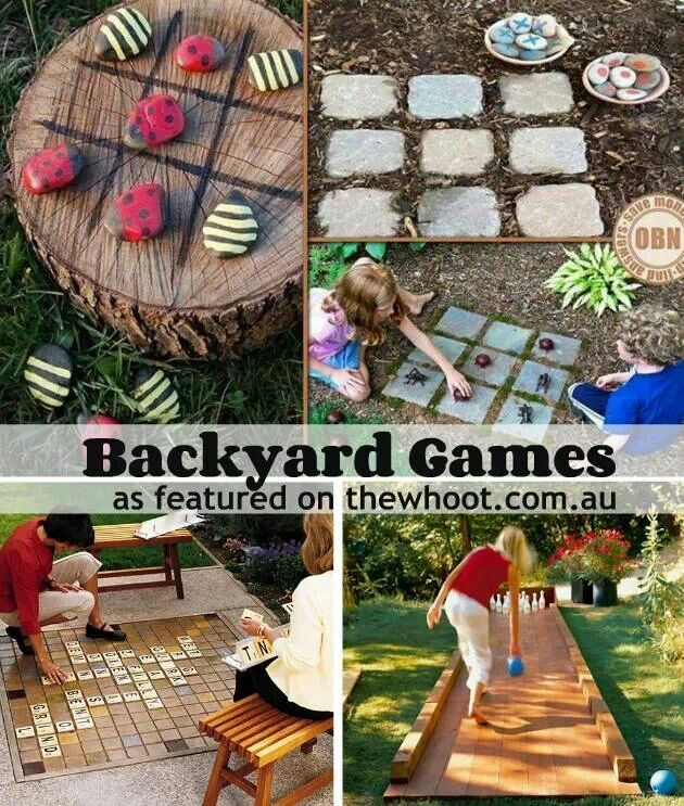 17 Best Images About Outdoor Games And Fun On Pinterest