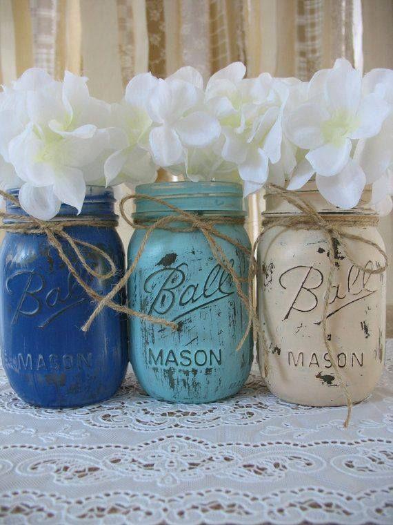 Mason jars... Check!