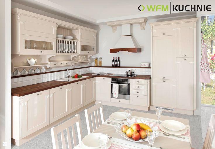 VERONESE LATTE DĄB PATYNOWANY - zdjęcie od WFM KUCHNIE - Kuchnia - Styl Klasyczny - WFM KUCHNIE