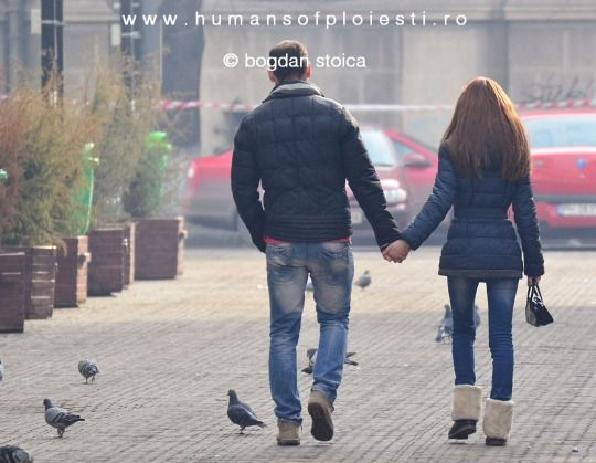 """There is only one path to Heaven. On Earth, we call it love."" Ayn Rand  people, stories & photos - www.humansofploiesti.ro"