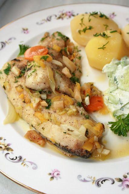 Ryba duszona z warzywami i mango | sio-smutki! Monika od kuchni