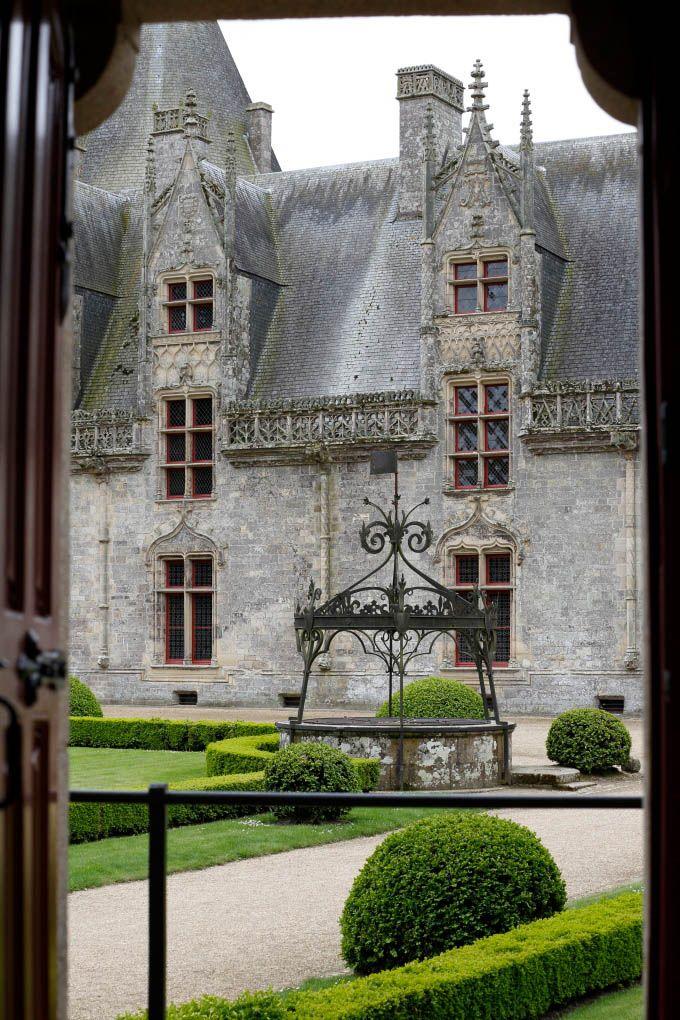 Le jardin à la française - Château de Josselin