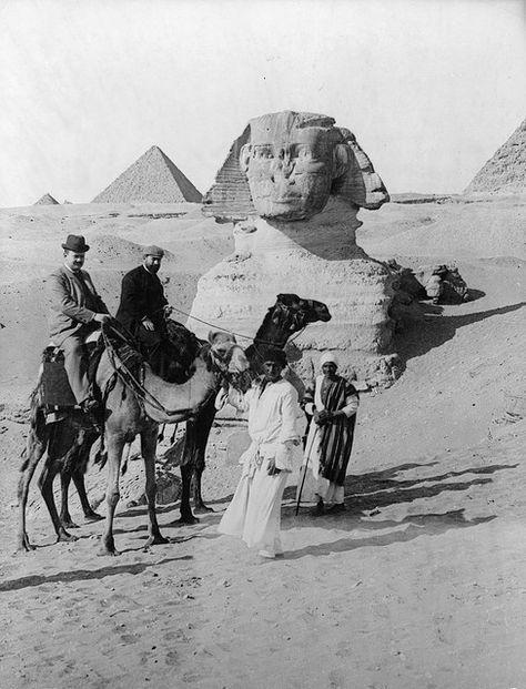 Pyramids - egypt 1899