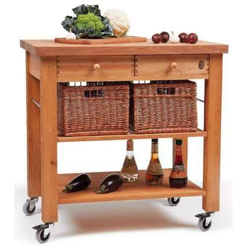 Eddingtons Kitchen Trolley The Lambourn 2 Drawer