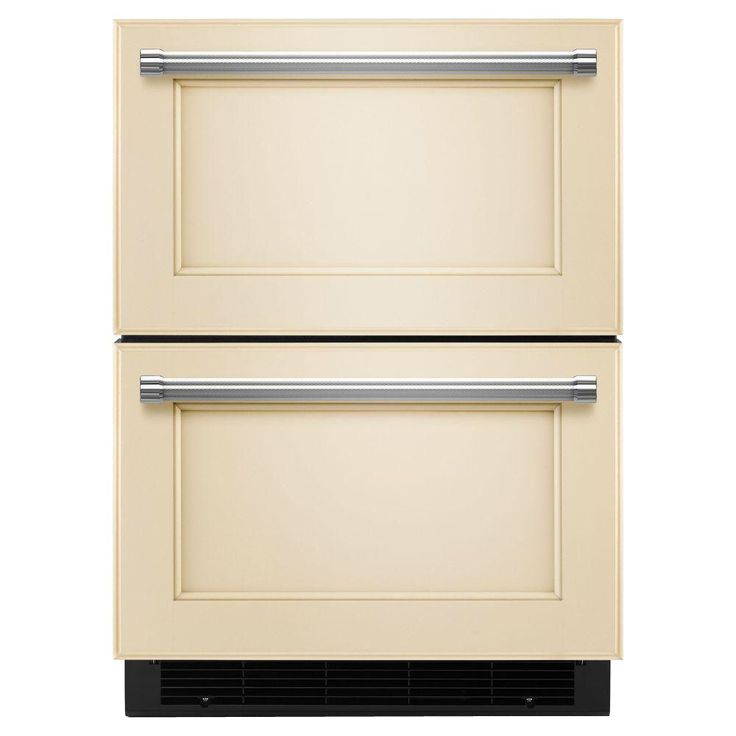 Kitchenaid 47 cu ft double drawer refrigerator freezer