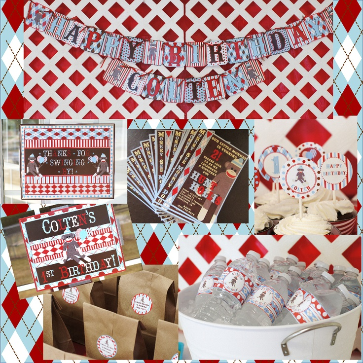 find this pin and more on ideas for my sisters sock monkey baby shower