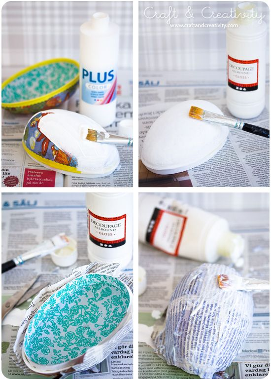 Påskägg make-over - Craft & Creativity