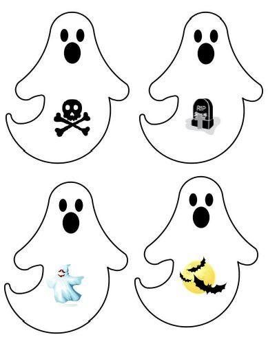 Zoek 2 dezelfde. Plaat 6. Druk de prent 2 x af, knip ze uit en plastificeren. Er staan nog platen in thema Halloween.