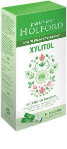Patrick Holford Xylitol for weight loss and energy support. Sugar subsitute. Say no to sugar. #Diabetes